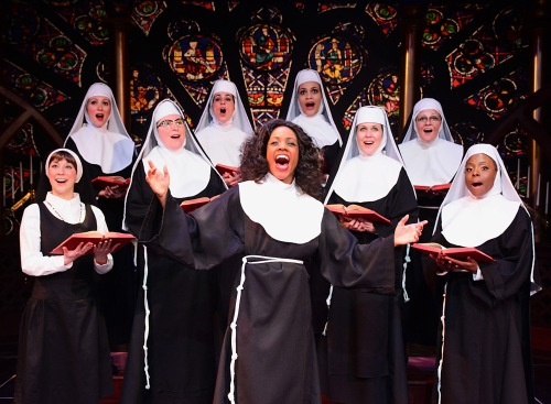 Deloris leads the nuns