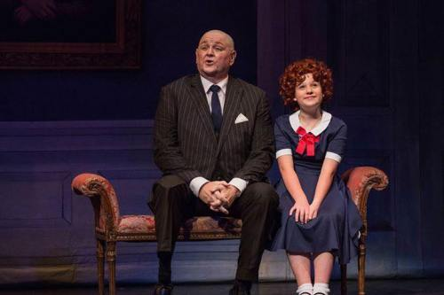 Warbucks and Annie